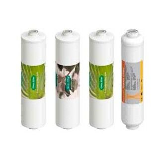 Pack of 4 cartridges reverse osmosis compact domestic osmosis equipment