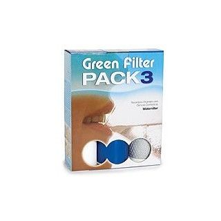 Standard parts for domestic osmosis ( pack of 3 filters )