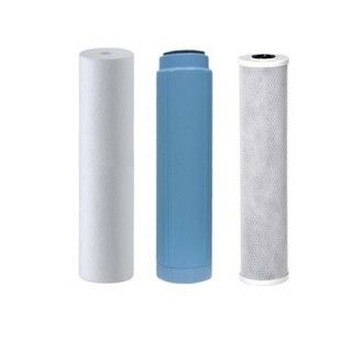 Reverse osmosis filters to five stages